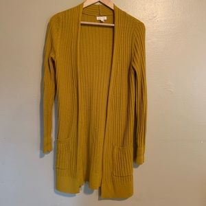 Urban Outfitters   Gold Cardigan Duster   XS